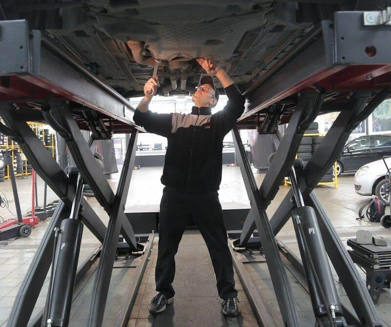 Serwisowanie aut dostawczych